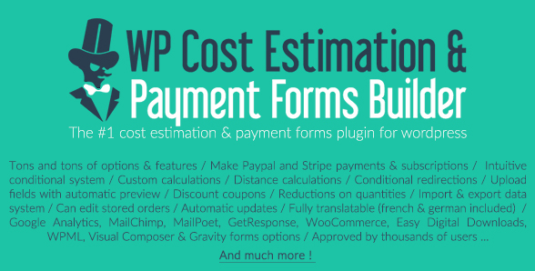 Wordpress Price Estimator