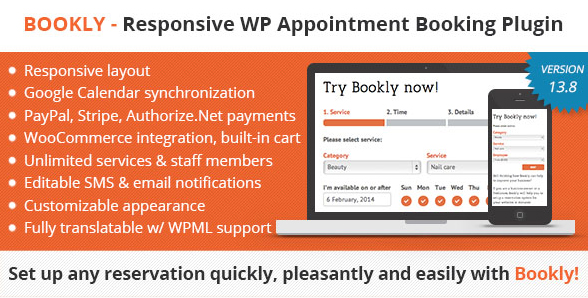 Wordpress Appointment Booking & Scheduling