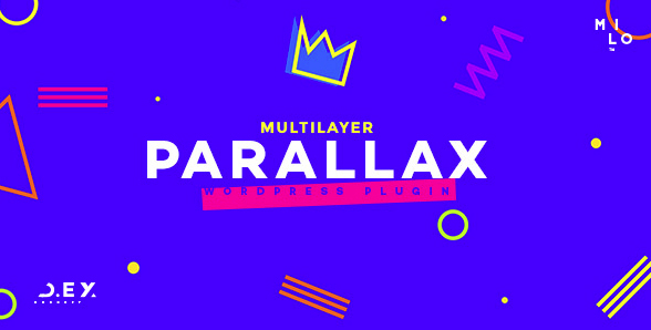 Wordpress Multilayer Parallax