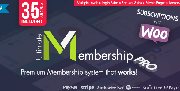 Wordpress Membership & Subscription Management
